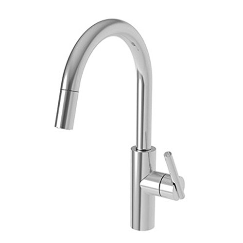 Newport Brass 1500-5113/26 Pull-down Kitchen Faucet Polished Chrome ()