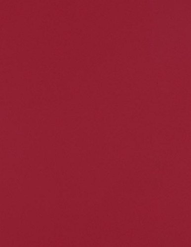 8 1/2 x 11 Cardstock - Garnet (50 Qty) | Perfect for Printing, Copying, Crafting, various Business needs and so much more! | 81211-C-101-50