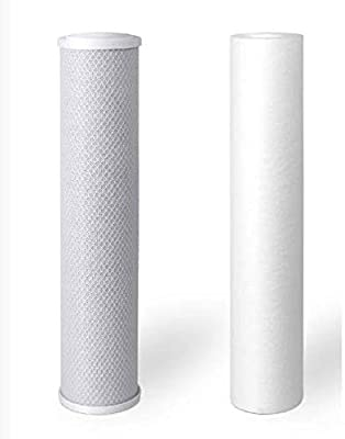 Premier Dual Drinking Water Filter System | Carbon and Sediment Filters