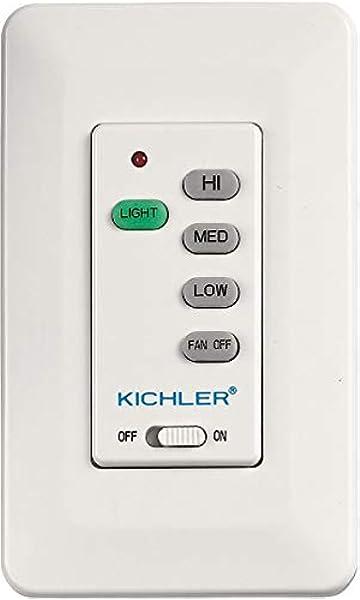 Kichler 370039MULTR Accessory Wall Transmitter L-Function Multiple