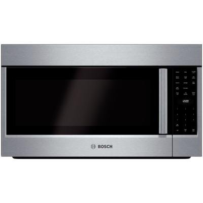 Bosch - 800 Series 1.8 Cu. Ft. Convection Over-the-range Mic