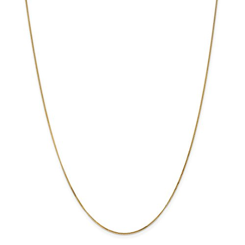 ICE CARATS 14kt Yellow Gold .9mm Link Curb Pendant Chain Necklace 20 Inch Charm Fine Jewelry Ideal Gifts For Women Gift Set From Heart 14kt Gold Curb Link Necklace