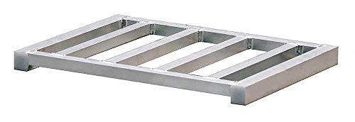2-Way Stackable Aluminum Pallet, 15-1/2