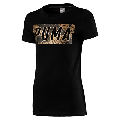 Graphic shirt cotone Style nero 1G Tee Puma T in qw4fztz