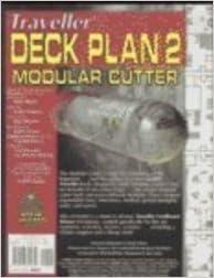 Book Traveller Deck Plan 2 Modular Cutter (v. 2)