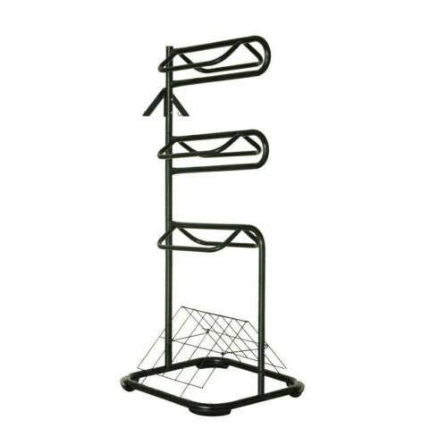 Seny Heavy Duty Three Tier Saddle Rack H68.5 x W30 x D30.