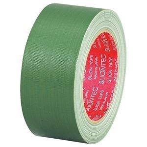 生活日用品 (まとめ買い) 布粘着テープ No.3390 50mm×25m 緑 No.3390-50GR 1巻 【×10セット】 B074JV3LFD
