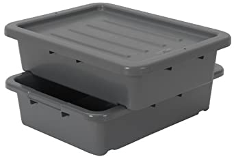Amazon Com Continental 1525gy Bp Heavy Duty Bus Tub And