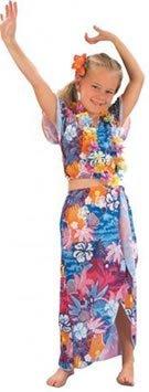 Girls Fancy Dress Costume Hawaiian Beauty Small Tropical Lua by fancy dress warehouse (Hawaiian Beauty Costume)