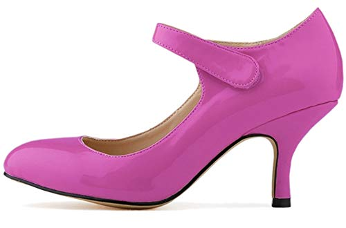 Fille Jane Fangsto Claquettes Violet Femme Mary qUTn0n68g