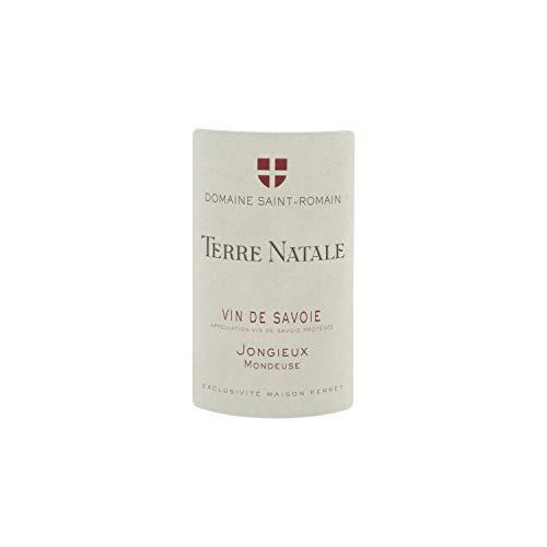 Vin-de-Savoie-Mondeuse-cru-JongieuxTerre-Natale-Rouge-2017-Domaine-Saint-Romain-Vin-AOC-Rouge-de-Savoie-Bugey-Cpage-Mondeuse-Lot-de-3x75cl