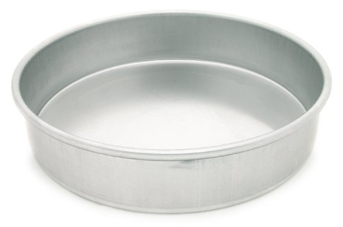 Parrish's Magic Line Round Cake Pan, 12 x 2 Inches Deep