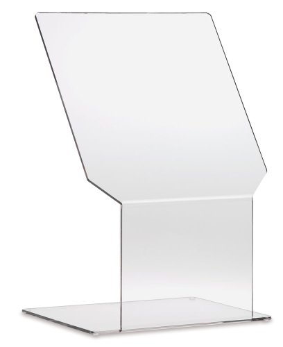Clearform ML5500 Clear Acrylic Biohazard Shield with Skid Resistant Rubber Feet, Large ()