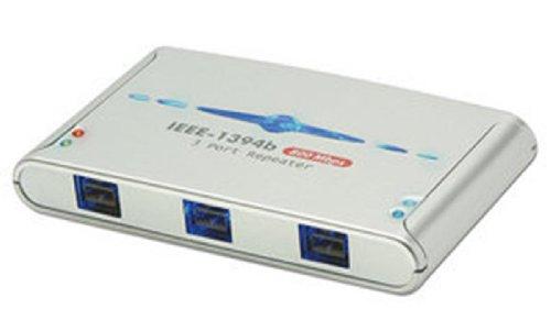 LINDY 32911 - FireWire Hub - 3 Port IEEE1394b FireWire Repeater