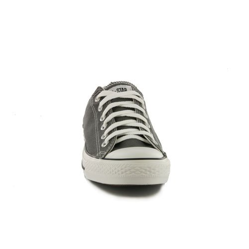 Converse Chuck Taylor All Star - Zapatos de lona, unisex Charcoal Orange