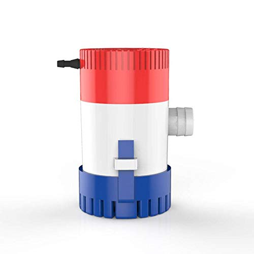 Weiker New 500GPH 12V 2A Electric Submersible Bilge Pump 3/4'' Outlet Marine Fishing Boat Runabouts Cruisers Yachts Boat Shops Boaters