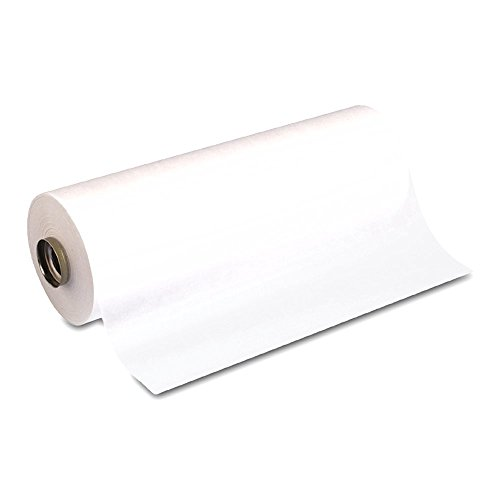Crafts Paper Towel Rolls - Dixie 110PONYROLL White Supertex Paper Pony Roll, 750' Length x 12