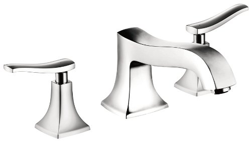 Hansgrohe 31313001 Metris C 3-Hole Roman Tub Set Trim, Ch...