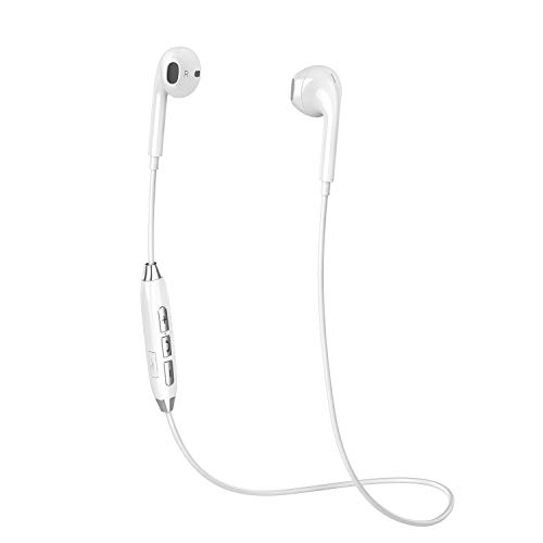 Bluetooth Headphones, COOLCAT Wireless Running Earbuds Bluetooth Best Sports Sweatproof Noise Canceling Headset w Mic Compatible with Samsung Galaxy S9 S8 S7, iPhone X 8 8 Plus 7 7 Plus and More