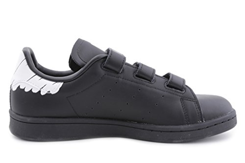 Adidas Originals Vrouwen Stan Smith Cf W Sneaker Zwart / Zwart / Wit