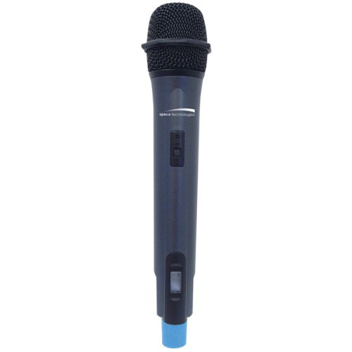 UPC 030519310598, Speco Tech MWHH-UHF Professional UHF Frequency-Selectable PLL Handheld Microphone