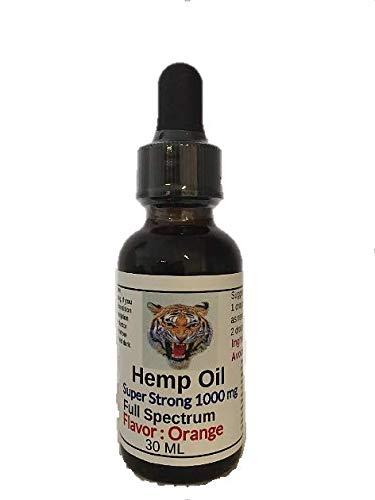 New Hemp Oil 1000 mg Super Strong