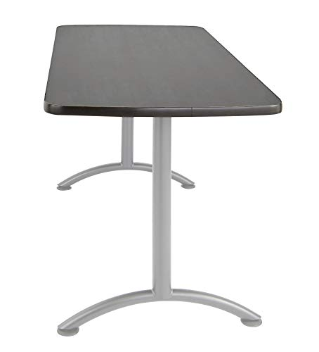 Iceberg ICE69217 ARC 5-foot Rectangular Conference Table, 30'' x 60'', Graphite/Silver Leg by Iceberg (Image #4)