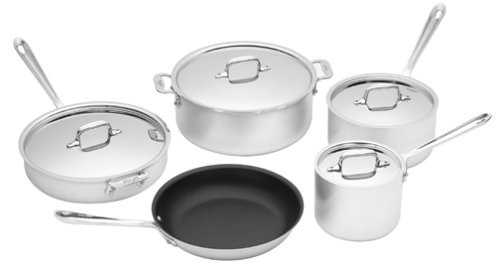 All Clad Stainless 9 Piece - 4