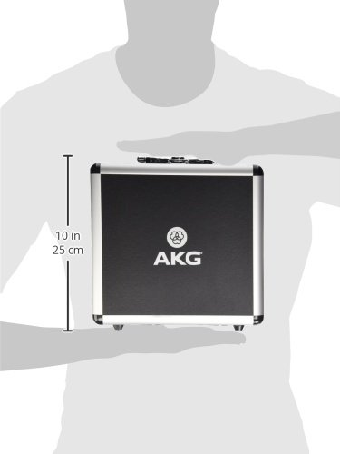 AKG Vocal Condenser Microphone, Black, 6.00 x 8.00 x 12.00'' (3101H00420) by AKG (Image #6)