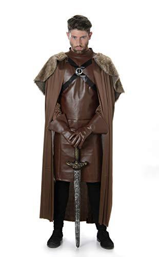 Karnival Costumes Disfraz de Caballero Medieval para Adultos