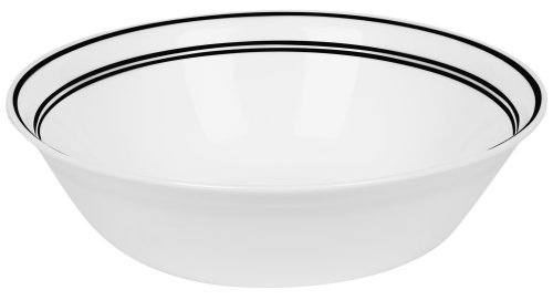 Corelle Livingware Serving Bowl, Classic Caf Black, 1-Quart