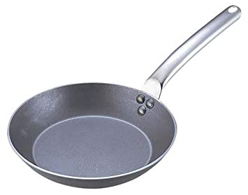 Poêle à frire ronde - tôle blanche Image