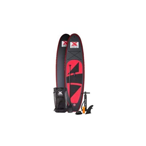 Xterra Paddle Boards >> Xterra Boards 10 Inflatable Stand Up Paddle Board Premium Sup Accessories Bundle Includes Paddleboard 6 Thick Pump Adjustable Paddle