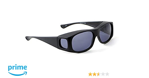 aa63e20d39 Amazon.com  Jonathan Paul Fitovers L Classic Series in Satin-Black and Gray  Polarized  Clothing