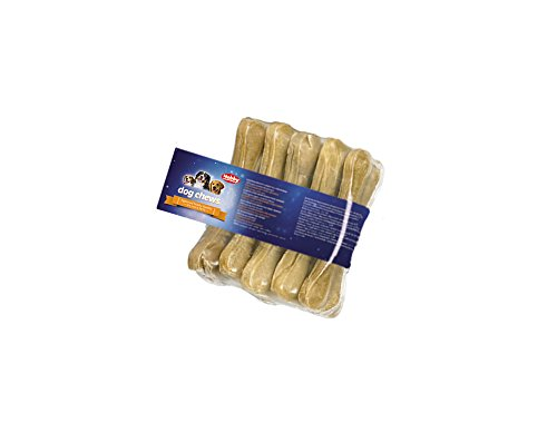 Nobby Hunde-Hunde-Kauknochen gepresst 5er Pack, 3er Pack (3 x 200 g)