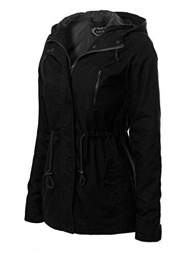 5dd2b2acd6790 Jual Instar Mode Women s Military Anorak Safari Hoodie Jacket ...