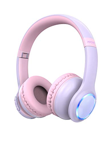 Mpow CH9 Kids Bluetooth 5.0 Headphones, LED