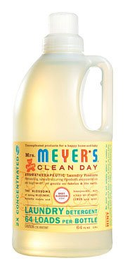 - Mrs Meyers Clean Day 2X Baby Blossom Laundry Detergent, 64 Ounce - 6 per case.