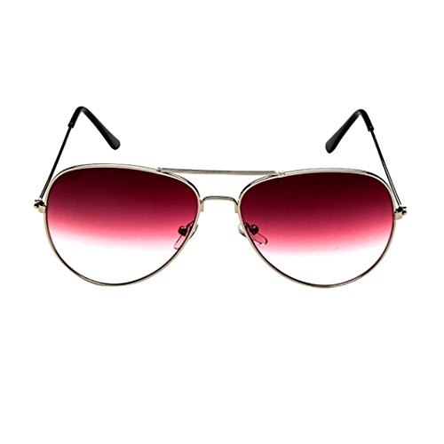Best deals Clearance IEason Mens Womens Retro Fashion Aviator Mirrored Lens Polarized Sunglasses Eye Glasses ( )