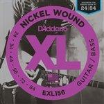 D'Addario Fender Bass VI Guitar Strings | Octave Below| Ball End | 3 Sets EXL156