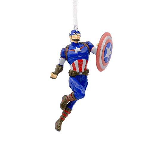 Hallmark Christmas Ornaments, Marvel Avengers Captain America Ornament -