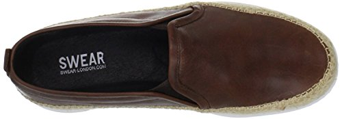 Swear London EARL1 Trainer Leather tan Brown - Tan free shipping marketable HEePNhObIP