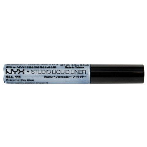 NYX Professional Makeup Studio Liquid Liner, Extreme Sky Blue, 0.384 Ounce