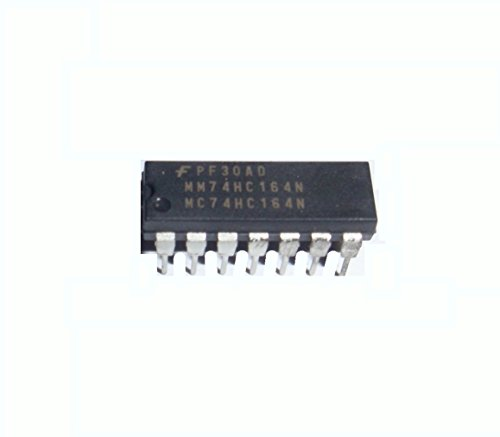 Fairchild Semiconductor MM74HC164N 74HC164 8-Bit Parallel-Out Serial Shift Registers 1 Pack (Register Serial Shift)