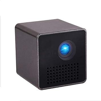 Proyector portátil, dlp Smart WiFi Proyector, Soporte Miracast ...