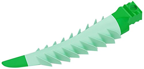 Garrison FXGR Composi-Tight 3D Fusion Wedge Refill, Large, Green (Pack of 100) by Garrison