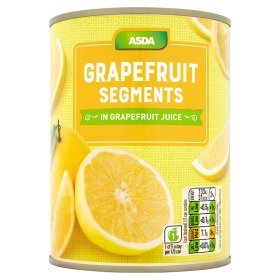 ASDA Grapefruit Segments in Grapefruit Juice 540g