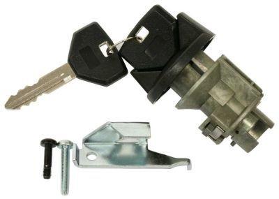 Evan-Fischer EVA25572038022 Ignition Lock Cylinder Black