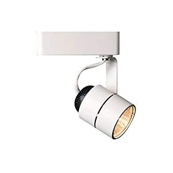 Direct Lighting 50010 White Mr16 Cylinder Low Voltage Track Lighting