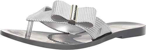 Melissa Shoes Girl Chrome + Jason Wu Silver Gray 8